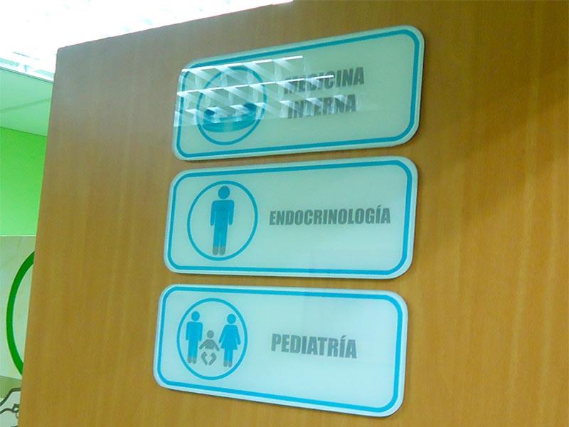 Señalètica de hospital