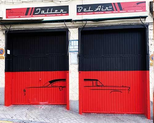 fachadas para taller